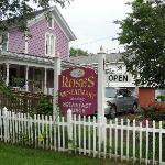 Restaurant accross the street