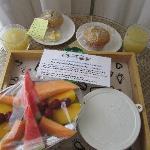Fantastic individual breakfast