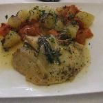 Filet de st pierre, légumes provençales
