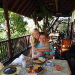 Breakfast on the Casa Grande Verandah