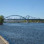 bridge to Minnesota from Riverside Park