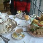 Afternoon tea and scones at Bea's Vintage Tea Room