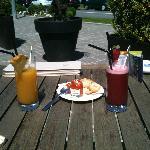 Cocktails Strawberry Saphir et Cuba Passion