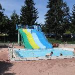 Outdoor pool at Les Carroz