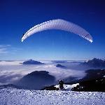 Paragliding in Les Carroz