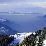 Skiing at Les Carroz