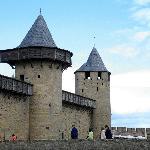 Castle town of Carcassonne