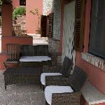 Cascina Cichetti Porch