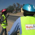 Anna shares Katutura stories with our group