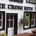 Entrance to The Cross Keys