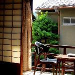 The Kurosawa room balcony