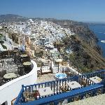 Fira during the day