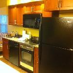Sheraton kitchen in room
