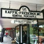 The Kaffie-Frederick store has been in this building since the 1890s.
