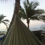 relax in the hammock overlooking surfing hotspots