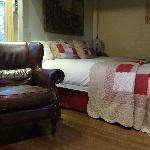 crisp white linen and comfort