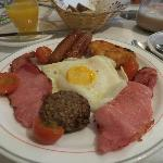 My full Irish breakfast
