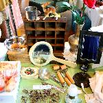lots of vintage and antique stuff
