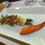 salade de homard et pointe verte