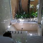 soaked tub