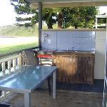 BBQ Hot Plate & Sink on Verandah