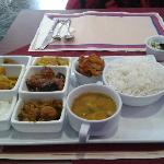 Weekend special south indian thali