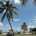 Park und Strand
