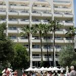 Hotel from the Snack bar