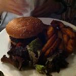 cheese burger avec une excellente viande