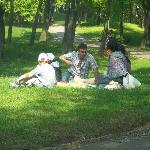 Picnic facilities including free charcoal grill