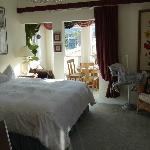 Bed, room next door