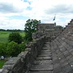 view from the roof of the castle