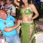 Belly Dancer on the Turkish BBQ night