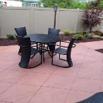 A portion of the Outdoor Patio