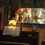 Chatam's Place: the chef and the piano