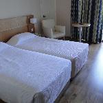 chambres avec 2 lits de 90cm