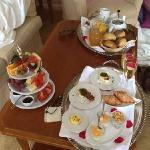 morgenmad på værelset