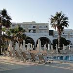 terrasses vues des piscines
