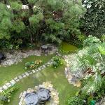 Der Garten von Nirvana Garden Hotel