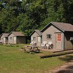 10 cabins with A/C