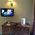 télé orientable coté canapé