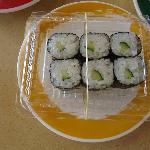 Seedless Cucumber or Kappa Maki Sushi
