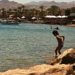 Central Dahab near Lighthouse