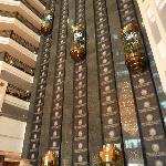 The lifts in the lobby