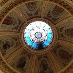 the dome in St. Joseph's Cathedral
