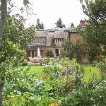 The beautiful garden!!