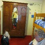 We had a nice wardrobe in the room