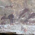 uKhahlamba-Drakensberg Park - Pintura rupestre.