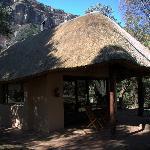 Giant's Castle Camp - Chalé nos jardins da reserva.