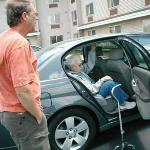 Convenient Handicap parking at the hotel